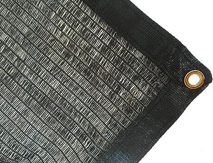 DIR 50% UV 遮光布 黑色 高级网状 遮光帘 *品质面板 10ft*20ft directshade-50% Black
