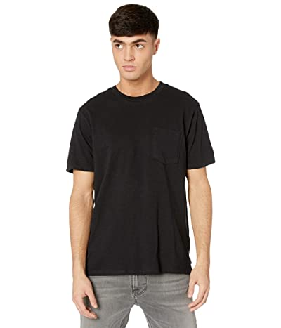 Billabong Mesa Slub Premium Crew T-Shirt (Black) Men