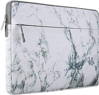 MOSISO ラップトップ スリーブケース 衝撃吸収 キャンバス 撥水 保護バッグ マーブル柄 インナーケース 2019 MacBook Pro 16 インチ A2141、15-15.6 インチ MacBook Pro、Dell Lenovo ...