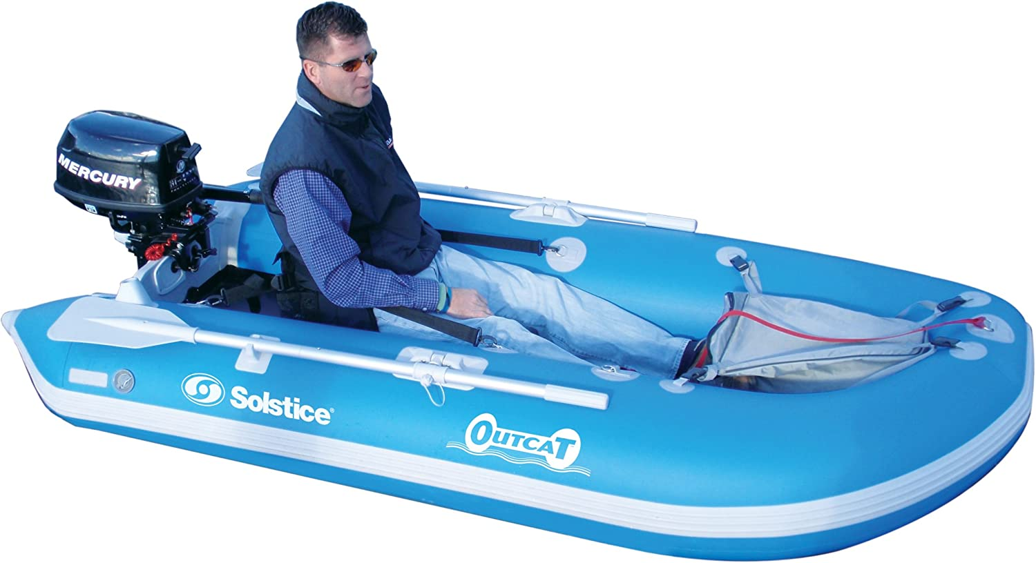 Solstice by Swimline Minneapolis Mall OutCat Fishing NEW before selling ☆ Catamaran Boat