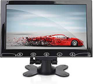 10-Inch Security Camera Monitor Screen - 1080p HD Widescreen Video Monitor Display w/HDMI RCA BNC VGA Input for Computer D...