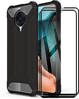 FANFO® Funda para Xiaomi Redmi K30 Ultra, protección contra Golpes de TPU + PC Resistente a arañazos (Doble Capa) Carcasa ...