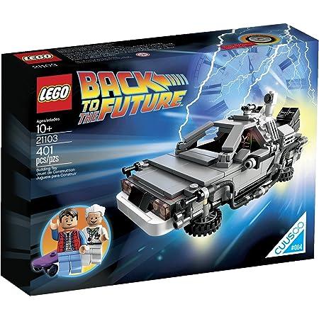 レゴ (LEGO) クーソー デロリアン・タイムマシン 21103