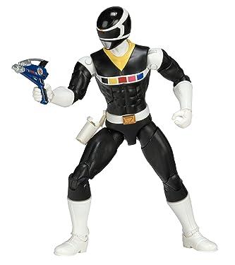Power Rangers In Space 6.5-Inch Black Ranger Legacy Figure