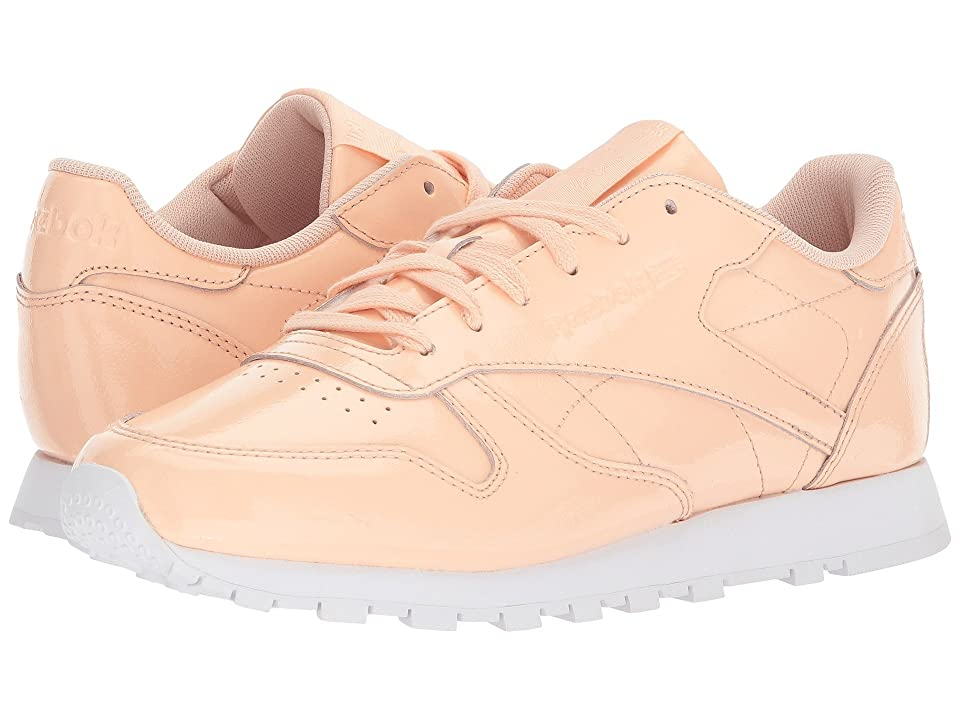 Reebok Lifestyle Classic Leather Patent (Desert Dust/White) Women