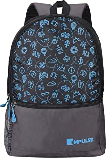 Impulse 30 Ltrs Blue Casual Backpack (Pathway 30 litres Blue)