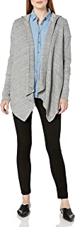 Splendid Women's Thermal Wrap Hooded Cardigan