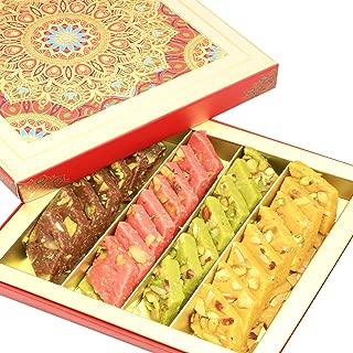 Ghasitaram Gifts Indian Sweets - Sweets Assorted Sugarfree Kaju Katlis in Fancy Box