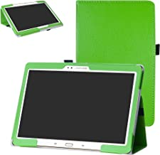 Samsung Tab S 10.5 T800 Case,Bige PU Leather Folio 2-Folding Stand Cover for 10.5