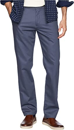 Slim Tapered Signature Khaki Lux Cotton Stretch Pants - Creaseless