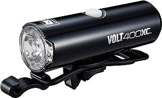 キャットアイ(CAT EYE) LEDヘッドライト VOLT400XC HL-EL070RC USB充電式 ブラック