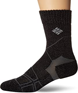 Columbia Men's Hike Crop Crew Sock
