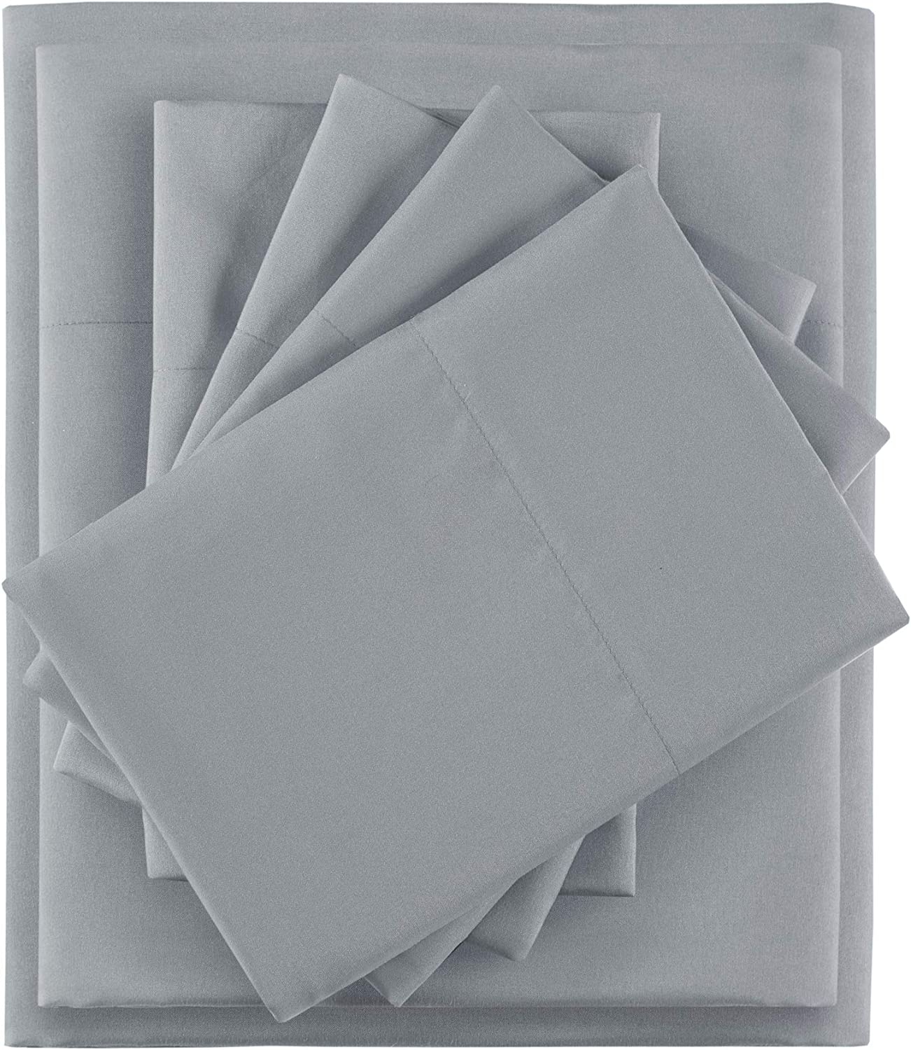Omaha Mall Intelligent Design Microfiber Sheet Cheap Set Resis Wrinkle with Side