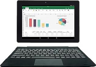 [3 Bonus Items] Simbans TangoTab 10 Inch Tablet and Keyboard 2-in-1 Laptop, 2 GB RAM, 32 GB Disk, Android 9 Pie, Mini-HDMI...