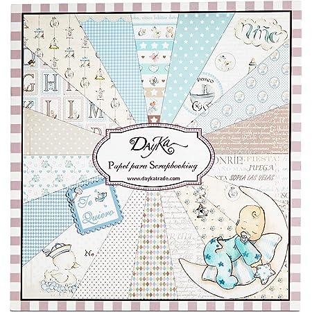 Dayka Trade Kit de Scrapbooking pour Enfant 20 x 20 cm