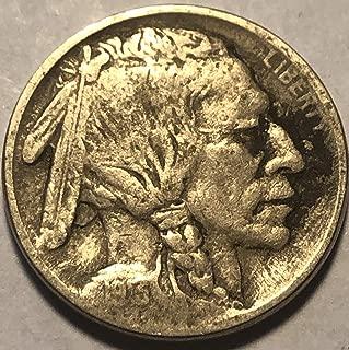 1913 P Buffalo Type I Nickel Very Good Details