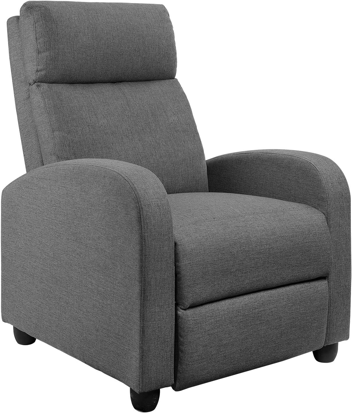 Best Highlighted Model: JUMMICO Single Recliner Sofa with Adjustable Home Theater.