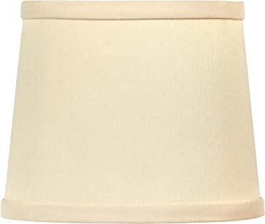 Upgradelights Eggshell 10 Inch Slip on Uno Lamp Shade (8.5x10x8)