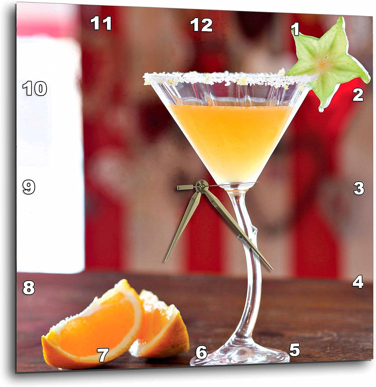 3dRose Soldering DPP_207859_2 The Rooibos Mandarin Clock Low price Margarita Wall 1