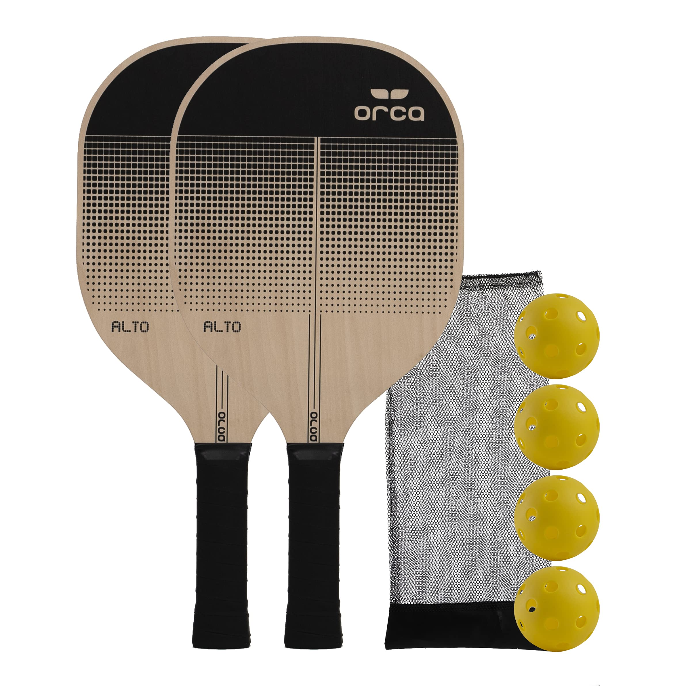 Orca Paddle Co. Pickleball Paddles 1 Player and 2 Player Set