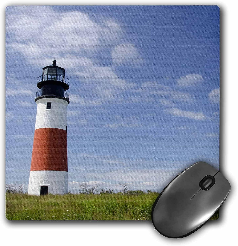3dRose LLC 8 x 8 x 0.25 Inches Massachusetts Nantucket Sankaty Lighthouse Cindy Miller Hopkins Mouse Pad (mp_90822_1)
