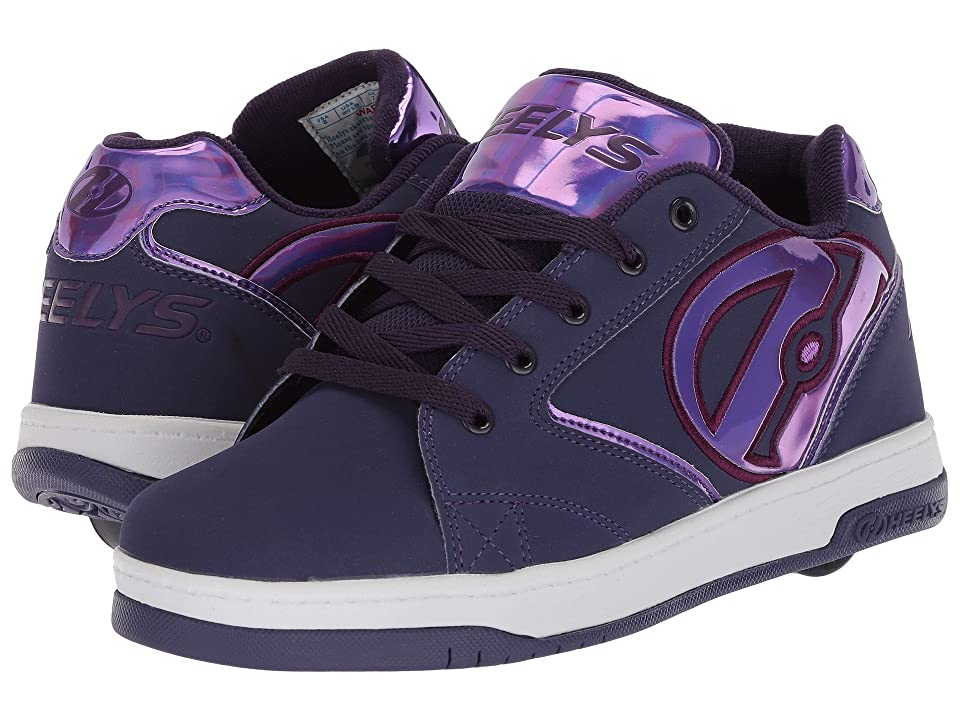 Heelys Propel 2.0 (Little Kid/Big Kid/Adult) (Grape/Purple Gasoline) Kids Shoes