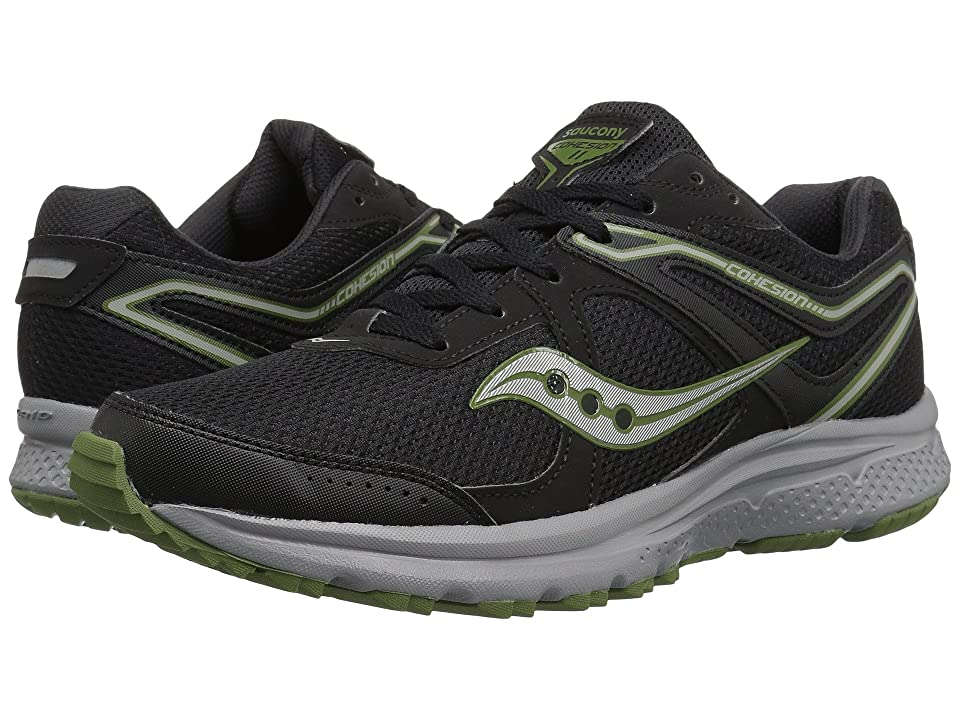 Saucony Cohesion TR11 (Black/Green) Men