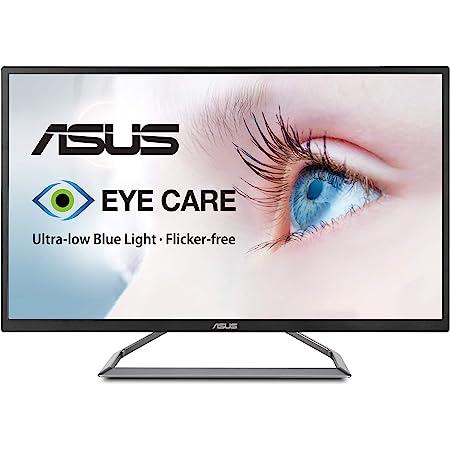 "ASUS 32"" 4K HDR Monitor (VA32UQ) - UHD (3840 x 2160), 95% DCI-P3, Speaker, Eye Care, Adaptive-Sync/FreeSync, Shadow Boost, Blue Light Filter, Flicker Free, DisplayPort, HDMI, Tilt Adjustable"