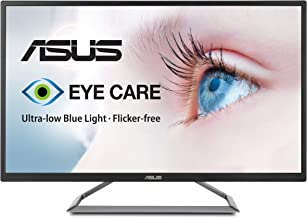 "Asus VA32UQ 31.5"" HDR Monitor 4K (3840 X 2160) FreeSync Eye Care DisplayPort HDMI HDR10,Black"