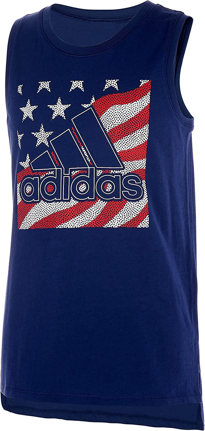 adidas Girls' 67% OFF of fixed price Muscle Top Tank Popular overseas