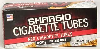Shargio Red King Size Tubes 5 boxes & bonus case