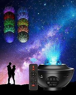 Projecteur Ciel Etoile, 21 Modes Éclairage Lumiere Galaxie Plafond, Galaxie Projecteur avec Luminosité Réglable télécomman...