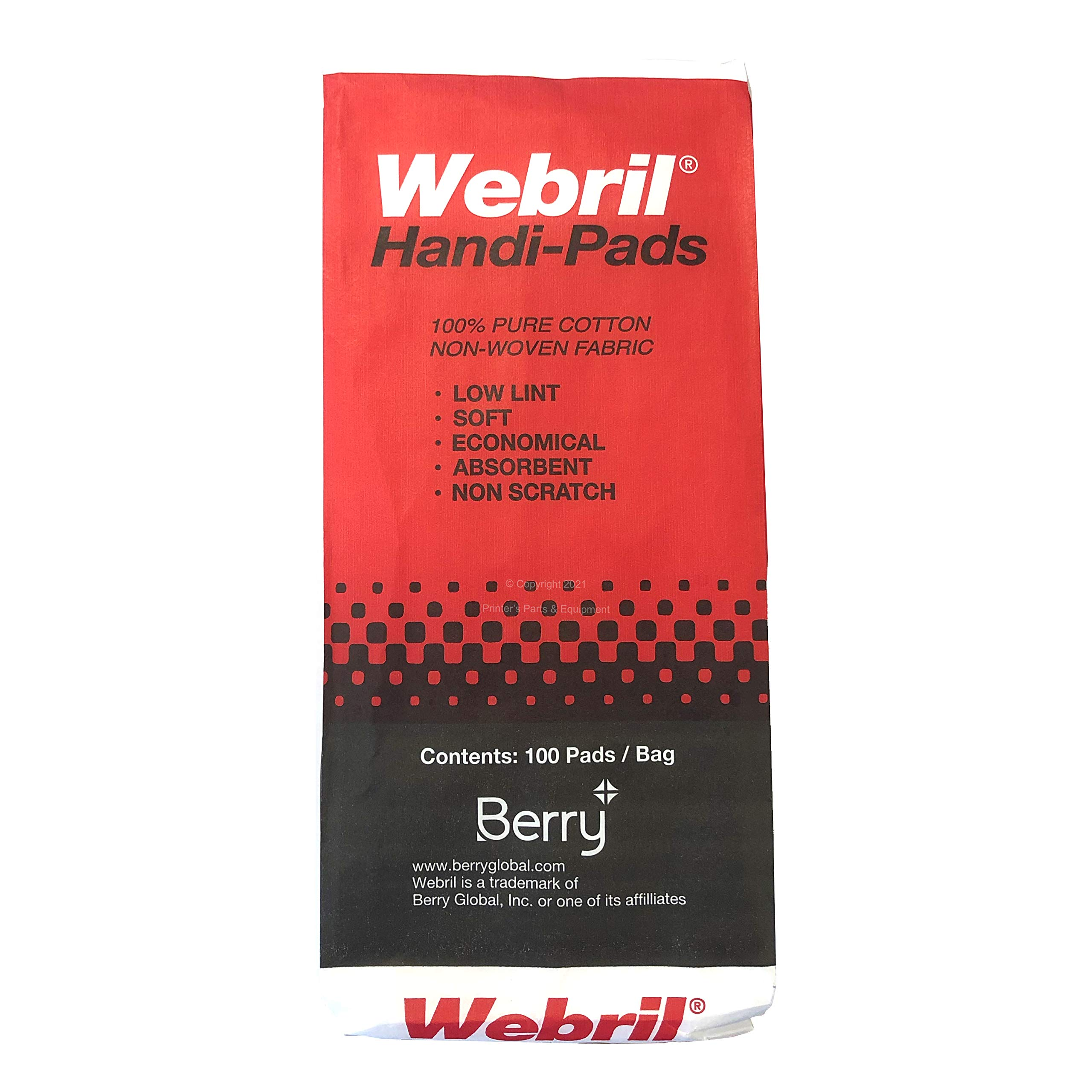 Webril Handi Pads 4x4