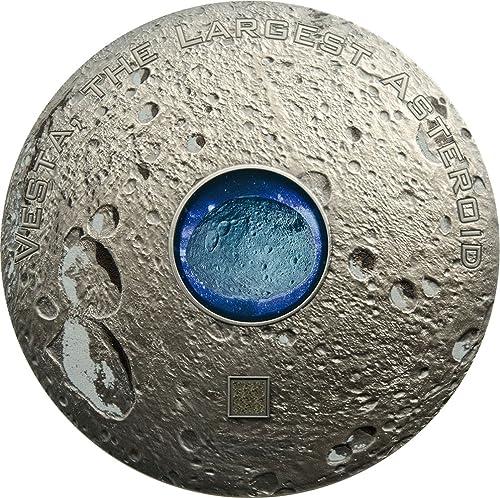 mejor precio Vesta The Largest Asteroid Gran Asteroide Hed Hed Hed Meteorites 3 Oz Moneda plata 20  Cook Islands 2018  comprar marca