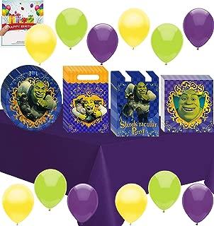 Combined Brands Shrek Birthday Deluxe Party Pack Bundle