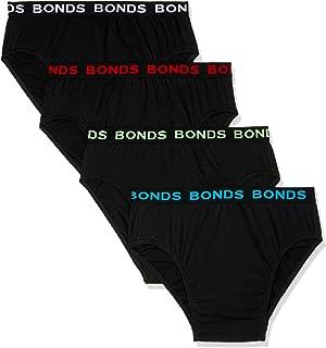 Bonds Men's Underwear Hipster Brief (4 pack)