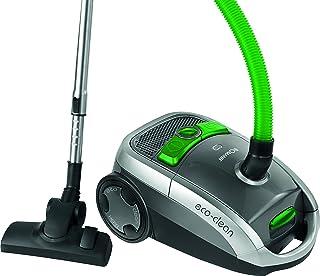Bomann BS 9010 CB Aspiradora de trineo con bolsa, eficiencia energ?tica A, 800 W, 75 Decibelios, Pl?stico, Gris y verde