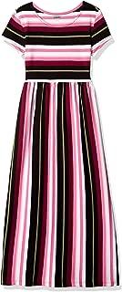 Gymboree Big Girls' Short Sleeve Casual Maxi Knit Dress