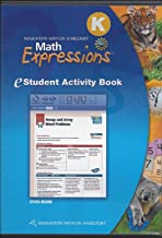 Math Expressions: eStudent Activity Book CD-ROM Grade K 2009