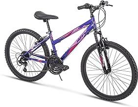 Huffy Bicycle Company Hardtail Mountain Bike, Summit Ridge, Lightweight, Purple, 24 Inch..