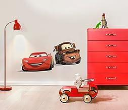 Komar - Disney - Deco-Sticker CARS FRIENDS - 50x70cm - Muurtattoo, Muurstickers, Muursticker, Muurschildering auto, raceau...