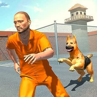US Police Dog Chase 3D Game: Jail Break Prison Escape Survival