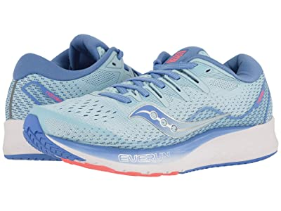 Saucony Ride ISO 2 (Blue/Coral) Women