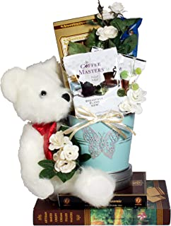 Beary Best Wishes, Gift Basket With Sweets And A Sweet Bear to Express Your Sentiments For Any Occasion