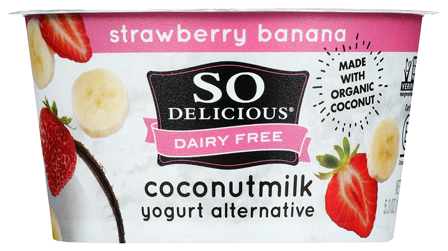 Fixed price for sale So 2021 spring and summer new Delicious Cultured Coconutmilk Strawberry- Yogurt Dairy-Free