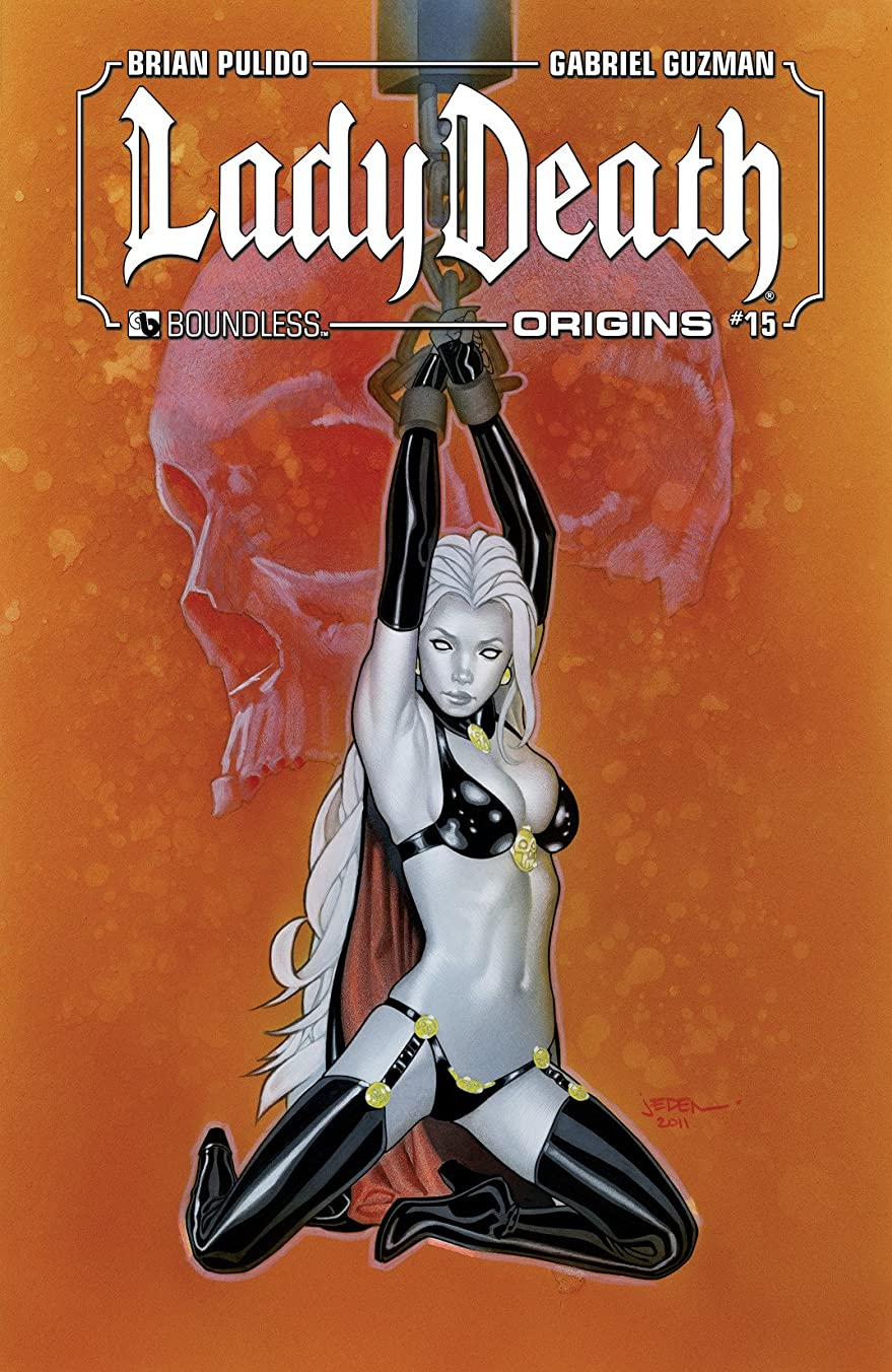 上に検体障害者Lady Death Origins #15 (Lady Death: Origins) (English Edition)