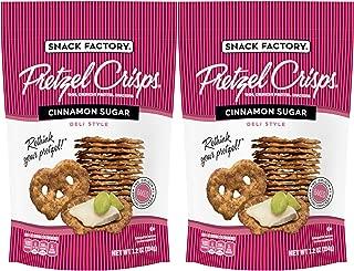 Snack Factory, Cinnamon Sugar, 7.2oz, (pack of 2)