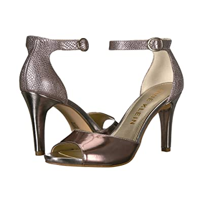 Anne Klein Opalize (Metallic Light Pink/Taupe Reptile) High Heels