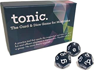 Tonic Music Tonic: The Card & Dice Game for Musicians
