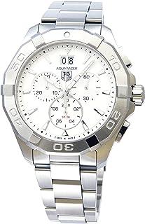 [タグホイヤー]TAG HEUER 腕時計 アクアレーサー クロノグラフ シルバー文字盤 クォーツ 300m防水 CAY1111.BA0927 メンズ 【並行輸入品】